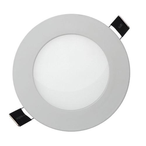 Algine Eco Led rund 230 V 12 W Ip20 Cw Decken White Flush Rahmen