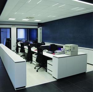 Algine Line LED 230 V 44 W 120 Lm / W Ugr <16 Ip20 Nw 6 00 X600 Mm 5 Jahre Garantie small 2