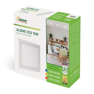 Algine Eco Led Square 230 V 12 W IP20 WW Unterputz small 1