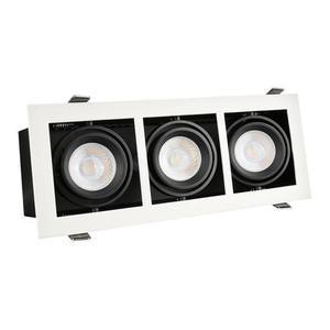 Moderne Mini Gu10 X3 White Frame small 0