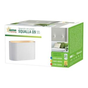Squalla G9 Ip20 WEISS GOLD small 2