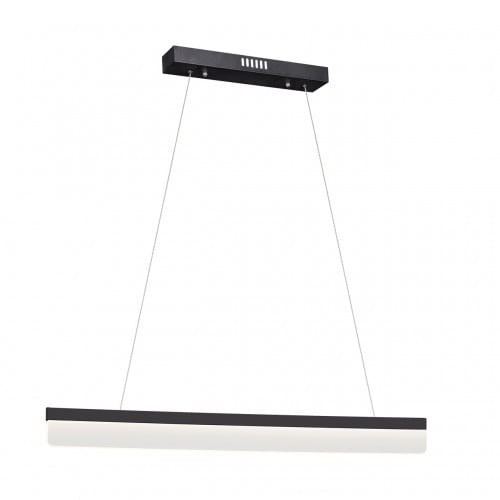 Moderne schwarze Pendelleuchte Milagro BEAM 400 18W 1260 lm