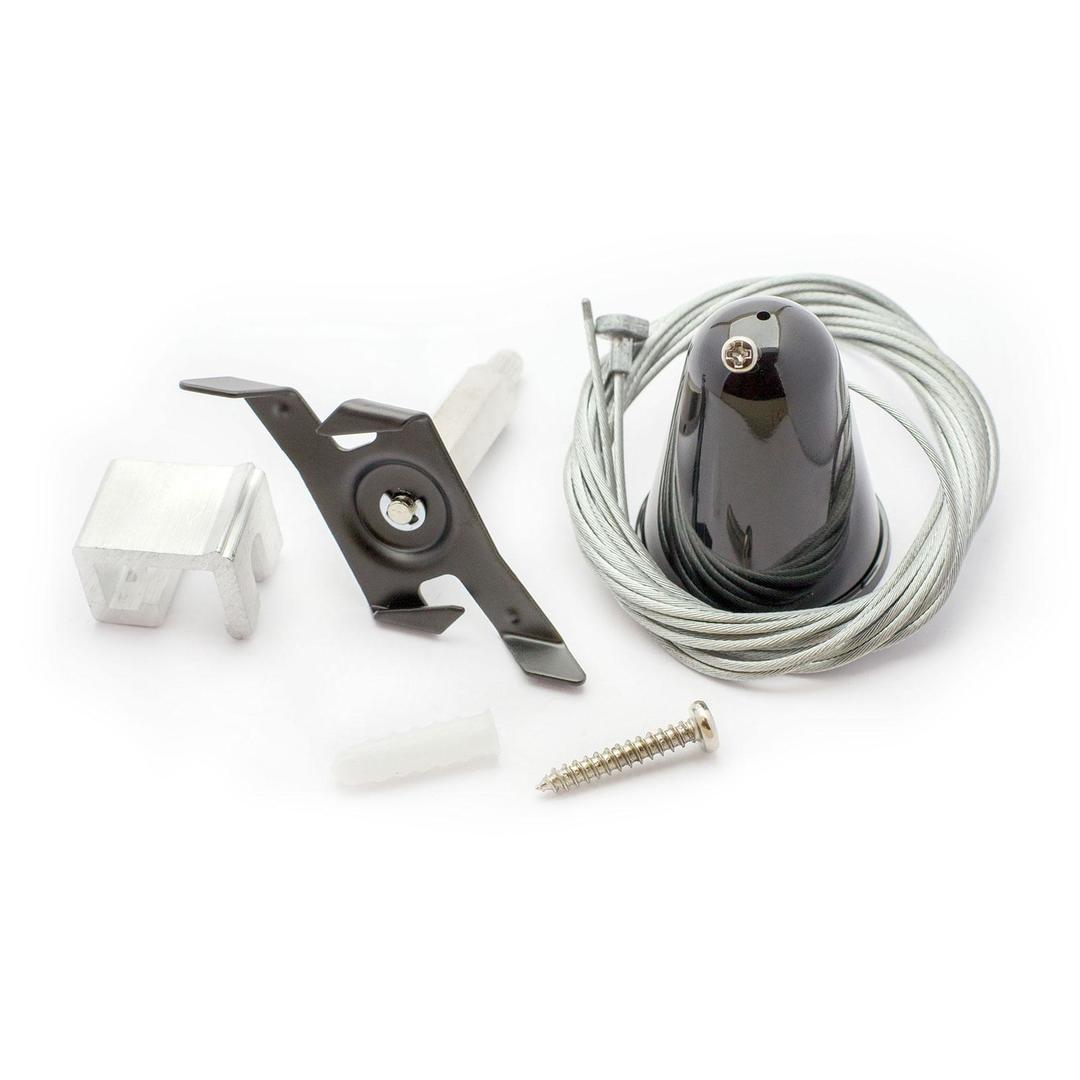 Sps 2 Suspension mit automatischer Anpassung und 3M Lanyard, Black Spectrum