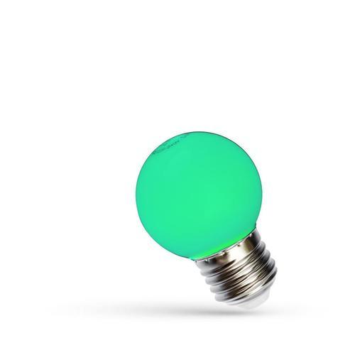 Led Kugel E27 230 V 1 W Grünes Spektrum