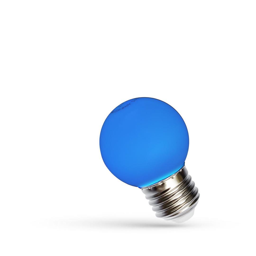 Led Kugel E27 230 V 1 W Blue Spectrum