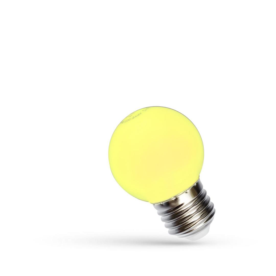Led Kugel E27 230 V 1 W Gelbes Spektrum
