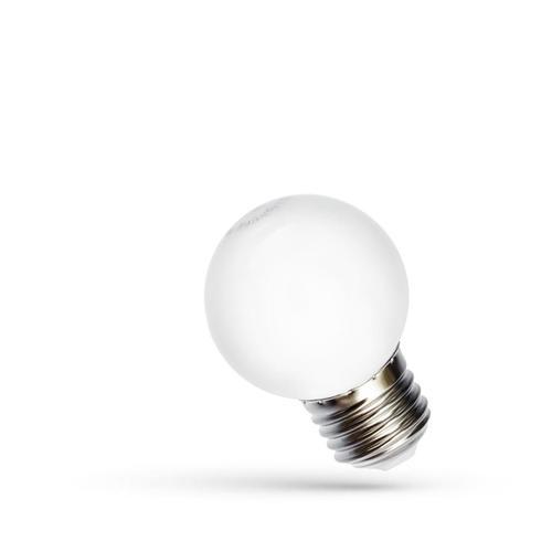 Led Kugel E27 230 V 1 W Rgb Spektrum