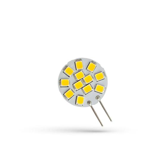 LED G4 12 V 1,2 W 12 LED WW 20 Mm Spektrum