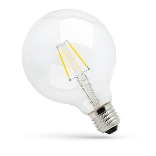Led Glob G125 E27 230 V 8 W Cog Nw Klares Spektrum