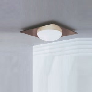 Wandleuchte / Plafond Murano Due (Leucos) Gio 40 Wenge 2x75W small 0