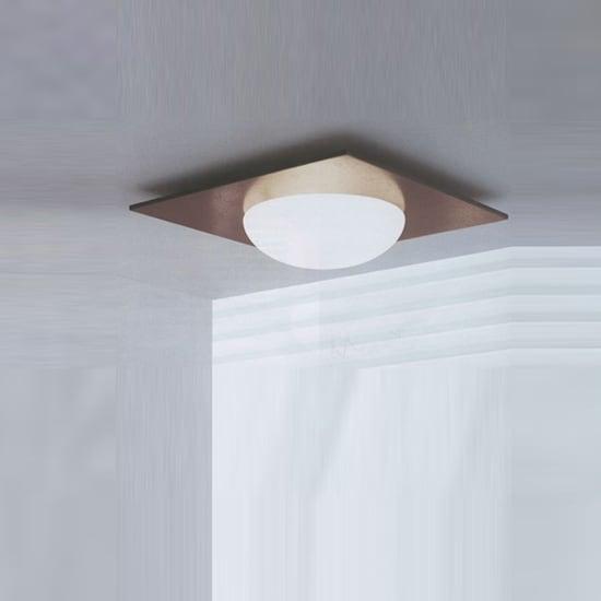 Wandleuchte / Plafond Murano Due (Leucos) Gio 40 Wenge 2x75W
