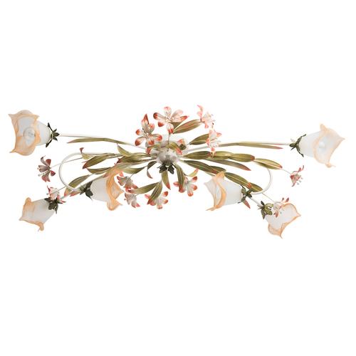 Verona Flora 6 Beige Lampe - 1340506