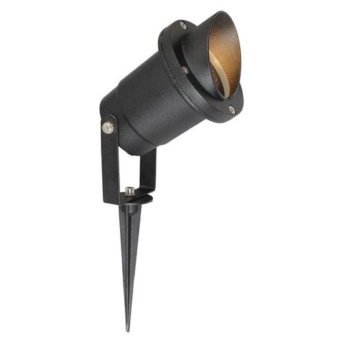 Gehämmerte Gartenlampe Titan Street 1 Black - 808040401
