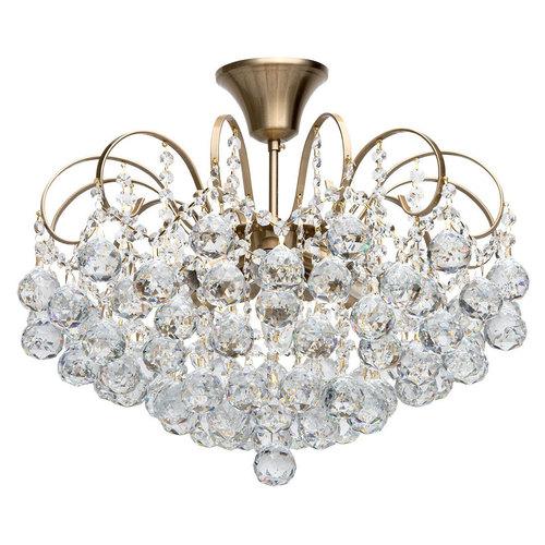 Pearl Crystal 6 Hängelampe Messing - 232016506