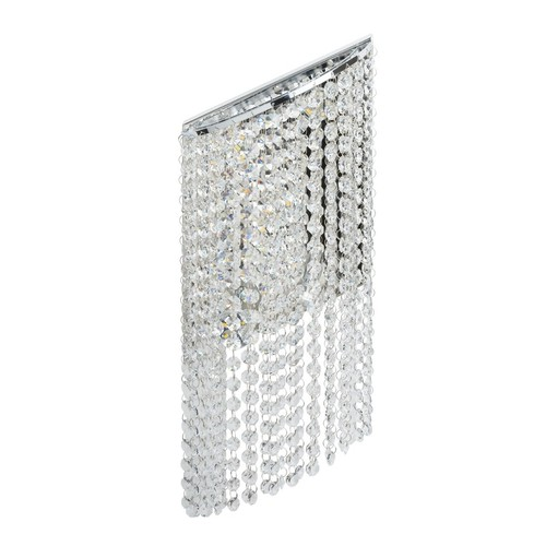 Wandleuchte Clarissa Crystal 5 Chrom - 437022105