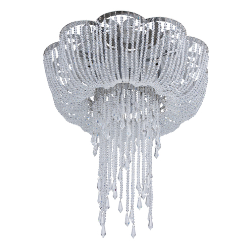 Kronleuchter Glamour Suzanne Crystal 8 Chrome - 458011608