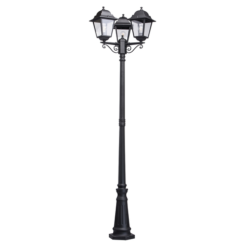 Glasgow Street Garden Light 3 Schwarz - 815041203