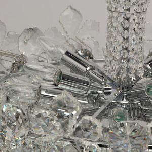 Hängelampe Laura Crystal 14 Chrom - 345010814 small 8