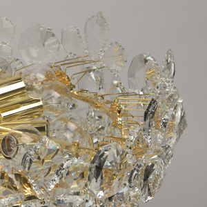 Hängelampe Laura Crystal 14 Gold - 345010914 small 9