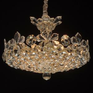 Hängelampe Laura Crystal 8 Gold - 345011508 small 1
