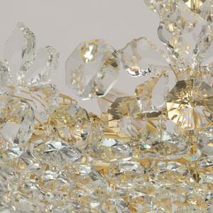 Hängelampe Laura Crystal 8 Gold - 345011508 small 3