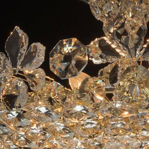 Hängelampe Laura Crystal 8 Gold - 345011508 small 4
