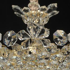 Hängelampe Laura Crystal 8 Gold - 345011508 small 5