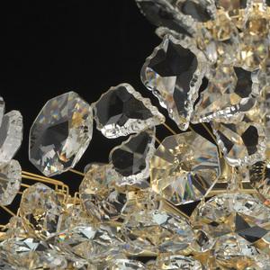 Hängelampe Laura Crystal 8 Gold - 345011508 small 10