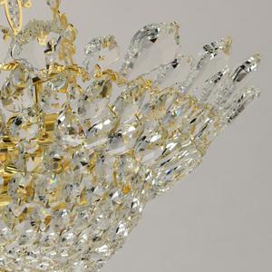 Hängelampe Patricia Crystal 12 Gold - 447010612 small 2