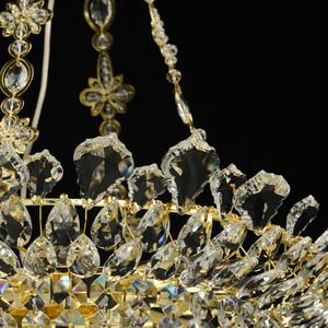 Hängelampe Patricia Crystal 12 Gold - 447010612 small 4