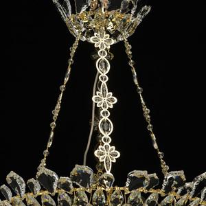 Hängelampe Patricia Crystal 12 Gold - 447010612 small 6