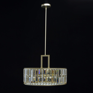 Hängelampe Monarch Crystal 5 Gold - 121010305 small 2