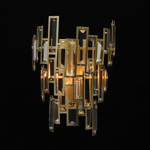 Wandleuchte Monarch Crystal 2 Gold - 121020402 small 1