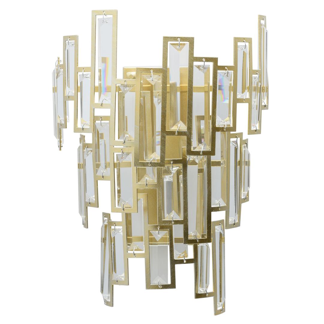 Wandleuchte Monarch Crystal 2 Gold - 121020402