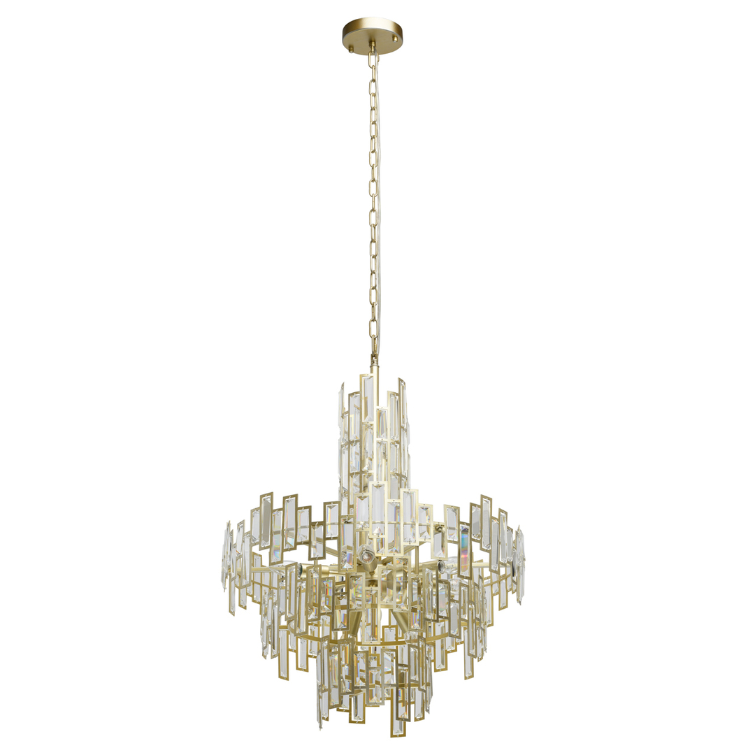 Monarch Crystal 11 Gold Pendelleuchte - 121010611