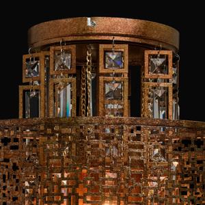 Hängelampe Marokko Loft 5 Kupfer - 185010205 small 7