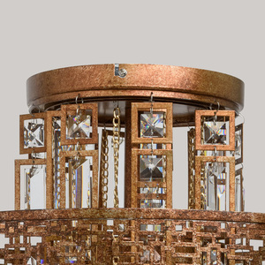 Hängelampe Marokko Loft 5 Kupfer - 185010205 small 10