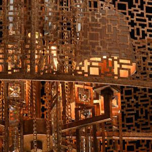 Hängelampe Marokko Loft 10 Kupfer - 185010410 small 6