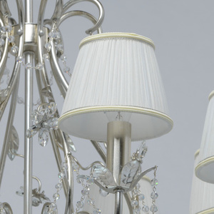 Hängelampe Valencia Elegance 8 Silber - 299011608 small 3