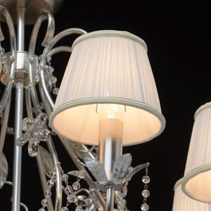 Hängelampe Valencia Elegance 8 Silber - 299011608 small 4