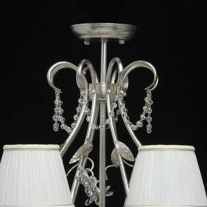 Hängelampe Valencia Elegance 8 Silber - 299011608 small 8