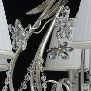 Hängelampe Valencia Elegance 8 Silber - 299011608 small 13