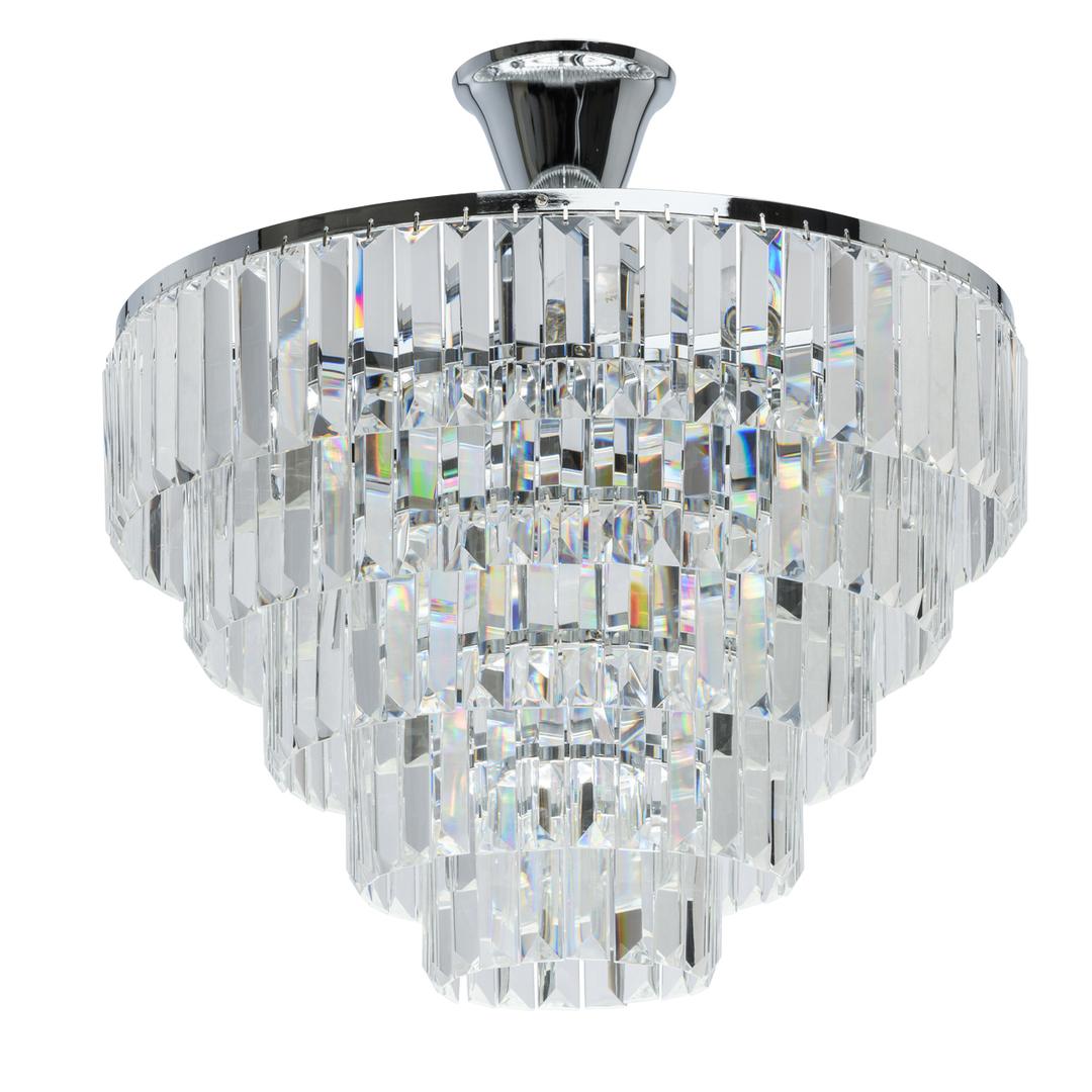 Pendelleuchte Adelard Crystal 5 Chrom - 642010705
