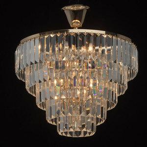 Adelard Crystal 5 Gold Pendelleuchte - 642010805 small 1