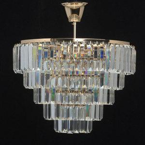 Adelard Crystal 5 Gold Pendelleuchte - 642010805 small 3