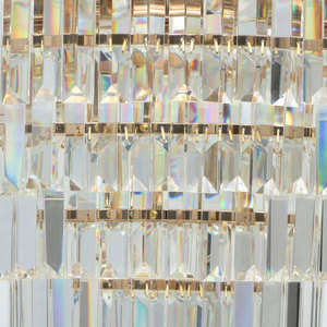 Adelard Crystal 5 Gold Pendelleuchte - 642010805 small 4