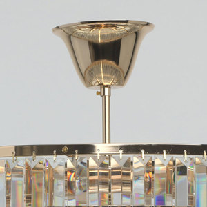 Adelard Crystal 5 Gold Pendelleuchte - 642010805 small 10