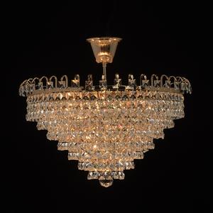 Pendelleuchte Adelard Crystal 5 Gold - 642011005 small 1