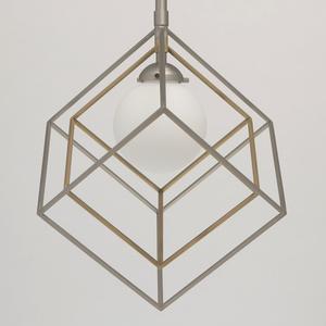 Hängelampe Prisma Hi-Tech 7 Silber - 726010301 small 5