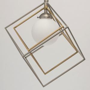 Hängelampe Prisma Hi-Tech 7 Silber - 726010301 small 9